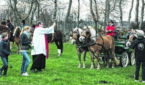 Gottes Segen für Ross und Reiter