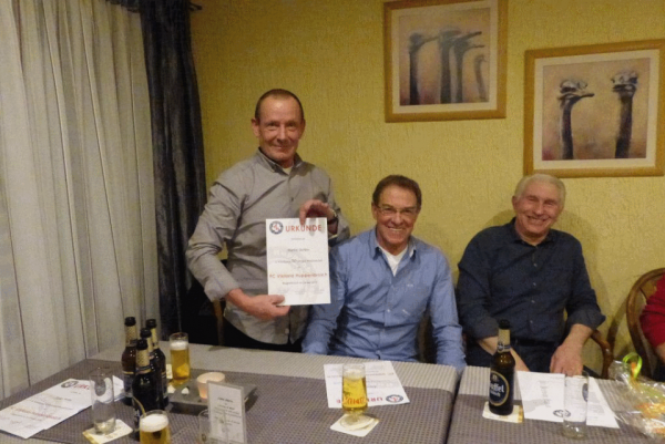 Jahreshauptversammlung FC Viktoria 2016