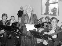 Heimspiel für das Mandolinenorchester