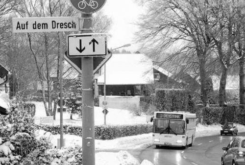 Bürger wünschen sich Bushaltestelle an der Bergstraße