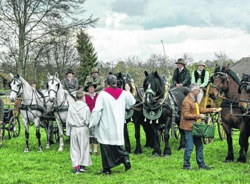 Huppenbroich lädt zur Pferdesegnung ein