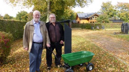 Friedhofskarre für Huppenbroicher Friedhof gespendet