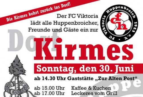 Kirmesfeier in Huppenbroich