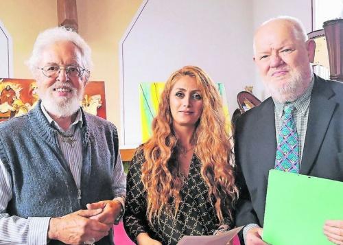 Künstler der Region bringen die Bibel auf die Leinwand
